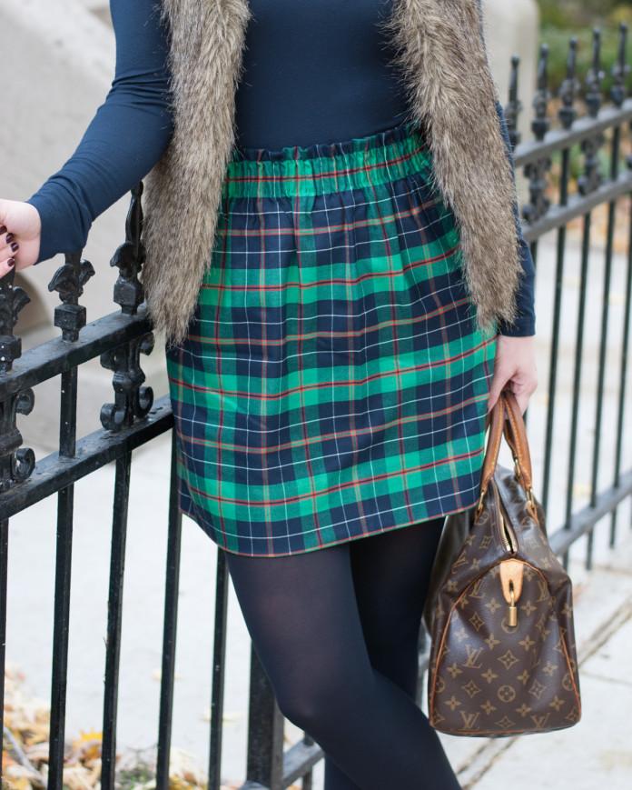 Nice Tartan Skirt Forever Chic