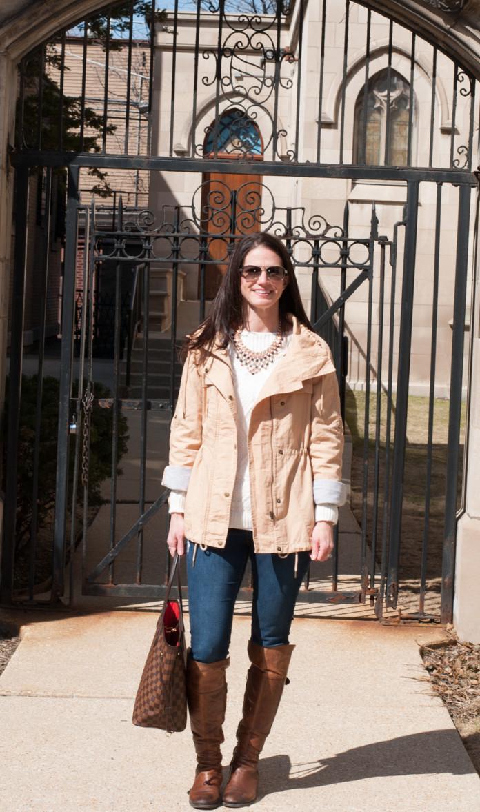 loft anorak jacket